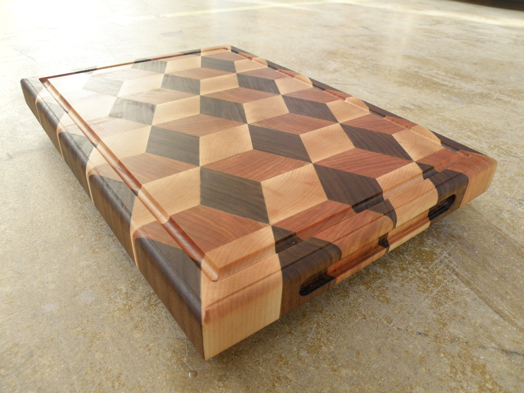 3d Cutting Board #4