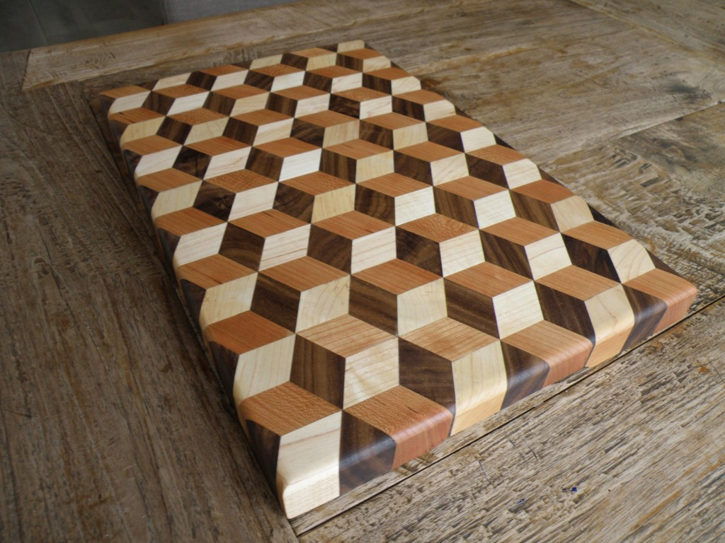 3d Cutting Board #2 – TAG woodstore